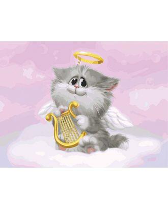 К по номерам Белоснежка Котёнок-ангелочек 30х40 см арт. МГ-35259-1-МГ0258767