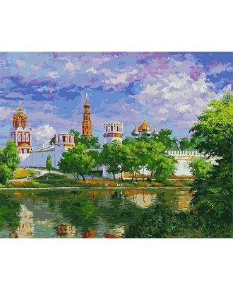 К по номерам Белоснежка Новодевичий монастырь 40х50 см арт. МГ-35276-1-МГ0258784