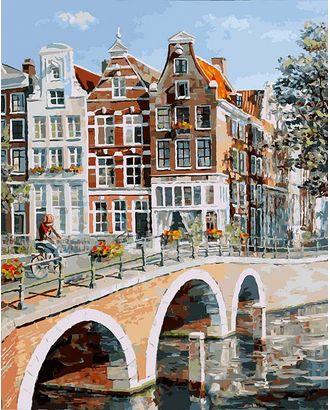 К по номерам Белоснежка Императорский канал в Амстердаме 40х50 см арт. МГ-35308-1-МГ0258829