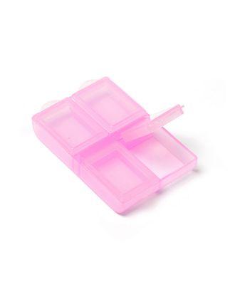Контейнер для мелочей 6,4x4,4x1,8 см цв. в ассортименте арт. МГ-35357-1-МГ0259144