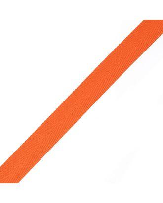 Тесьма киперная ш.1,7см хлопок 1,8г/см цв.оранжевый арт. МГ-4360-1-МГ0259418