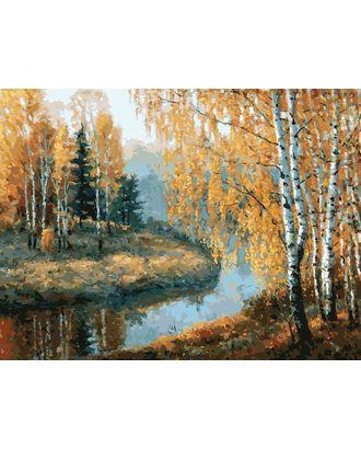 Живопись на к Белоснежка Вот и осень пришла 30х40 см арт. МГ-35634-1-МГ0260614