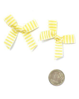 Бантики пришивные цв.02 желтый уп.1000шт арт. МГ-70441-1-МГ0260624