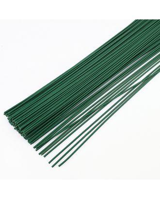 Флористическая проволока Ø0,9 мм,  цв.зеленый, 36 см, уп.20 шт арт. МГ-35650-1-МГ0260722
