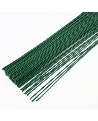 Флористическая проволока Ø1,2 мм,  цв.зеленый, 36 см, уп.20 шт арт. МГ-35651-1-МГ0260723