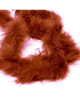 Боа-пух уп.15±3г цв.коричневый уп.2м арт. МГ-78858-1-МГ0261538