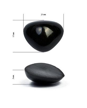 Носик для игрушек 33 цв.черный 21х17 мм арт. МГ-4490-1-МГ0261891