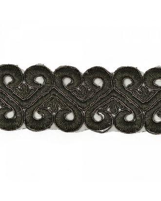 Кружево венецианское G1229 ш.5см, цв.03 черный арт. МГ-4577-1-МГ0263838