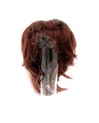 Волосы прямые короткие П140 цв.каштановый арт. МГ-4639-1-МГ0265337