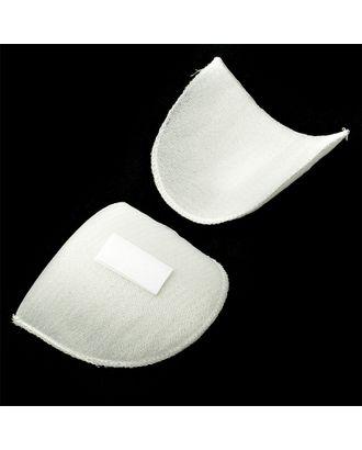 Подплечики на липучке Вк-10 цв.белый уп.50 пар арт. МГ-4643-1-МГ0265865