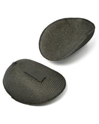 Подплечики на липучке реглан РК25 цв.черный уп.50 пар арт. МГ-4645-1-МГ0265867