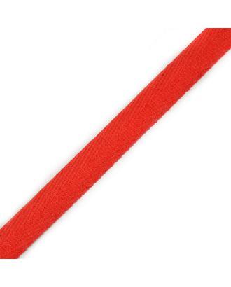 Тесьма киперная ш.1,3см хлопок 1,8г/см цв.красный арт. МГ-4646-1-МГ0266009