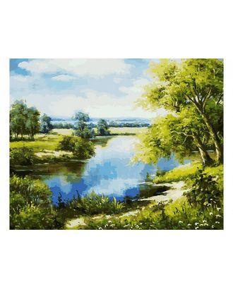 К по номерам Белоснежка Лесное озеро 40х50 см арт. МГ-36252-1-МГ0267442