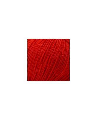 """Пряжа для вязания КАМТ """"Карамелька"""" (100% акрил) 10х50г/175м цв.046 красный арт. МГ-36457-1-МГ0267841"""