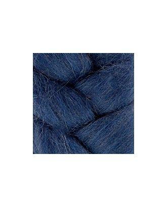 """Шерсть для валяния КАМТ """"Лента для валяния"""" (шерсть п/т 100%) 1х50г/2,1м цв.022 джинса арт. МГ-36504-1-МГ0267888"""