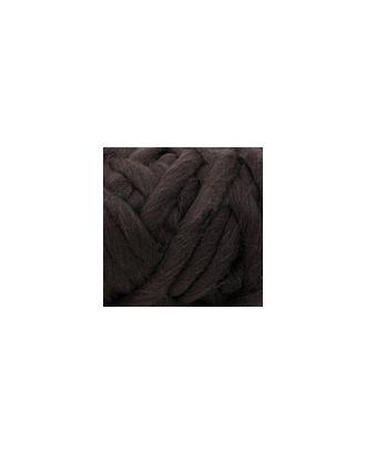 """Пряжа для вязания КАМТ """"Супер толстая"""" (100% шерсть п/т) 1х500г/40м цв.233 кофе арт. МГ-36663-1-МГ0268217"""