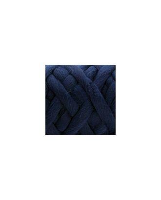 """Пряжа для вязания КАМТ """"Супер толстая"""" (100% шерсть п/т) 1х500г/40м цв.173 синий арт. МГ-36671-1-МГ0268226"""