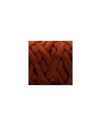"""Пряжа для вязания КАМТ """"Супер толстая"""" (100% шерсть п/т) 1х500г/40м цв.051 терракот арт. МГ-36678-1-МГ0268235"""