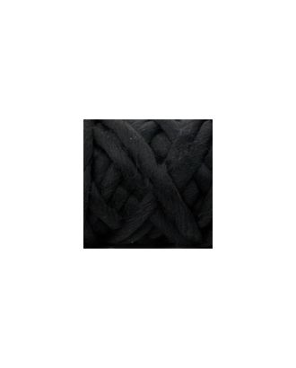"""Пряжа для вязания КАМТ """"Супер толстая"""" (100% шерсть п/т) 1х500г/40м цв.003 черный арт. МГ-36681-1-МГ0268238"""