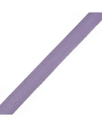 Тесьма киперная ш.1,7см хлопок 1,8г/см цв.фиолетовый арт. МГ-4768-1-МГ0268582