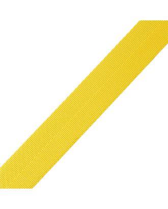 Стропа-25 (лента ременная) цв.02 желтый арт. МГ-78956-1-МГ0270209