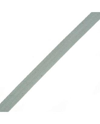 Тесьма киперная ш.1,3см хлопок 1,8г/см цв.св.серый арт. МГ-4996-1-МГ0279988