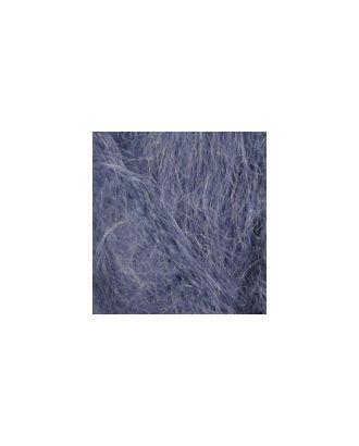 Пряжа для вязания Ализе Mohair classic NEW (25% мохер, 24% шерсть, 51% акрил) 5х100г/200м цв.411 джинс меланж арт. МГ-37033-1-МГ0281794