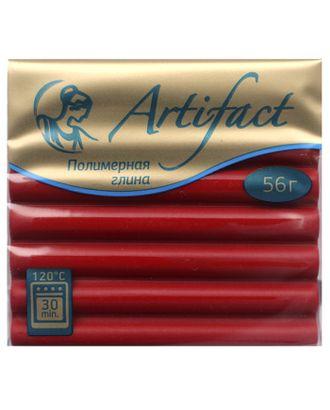 """Полимерная глина """" с повышенной прочностью классический цв.Королевский красный 56 г арт. МГ-37312-1-МГ0315084"""
