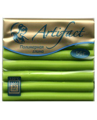 """Полимерная глина """" с повышенной прочностью классический цв.Кленово зеленый 56 г арт. МГ-37318-1-МГ0315090"""