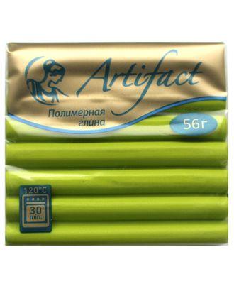 """Полимерная глина """" с повышенной прочностью классический цв.Зеленая хризантема 56 г арт. МГ-37319-1-МГ0315091"""