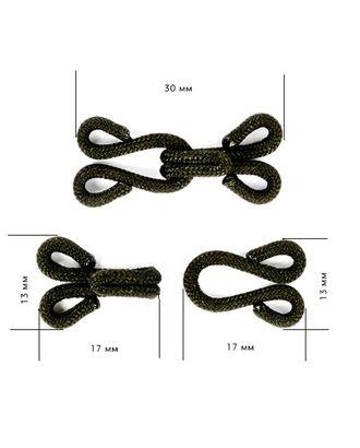 Крючок одежный в оплетке 29мм HWT.1.8 арт. МГ-78963-1-МГ0324976