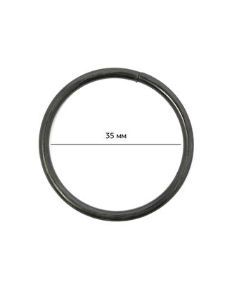 Кольцо металл TSW ш.35х3мм арт. МГ-5125-1-МГ0325176