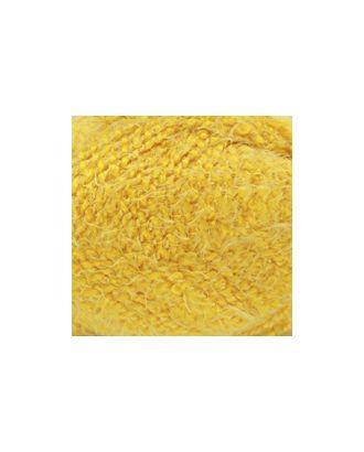 "Пряжа для вязания КАМТ ""Лотос Травка Стрейч"" (70% акрил, 28% полиамид, 2% лайкра) 10х50г/80м цв.104 желтый арт. МГ-37513-1-МГ0325223"