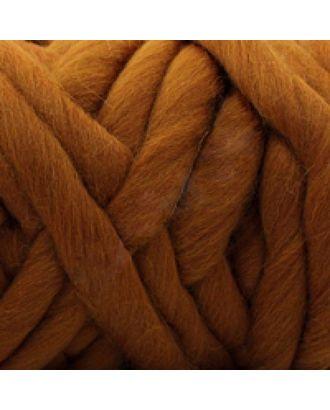 """Пряжа для вязания КАМТ """"Супер толстая"""" (100% шерсть п/т) 1х500г/40м цв.112 золотистый арт. МГ-37527-1-МГ0325263"""