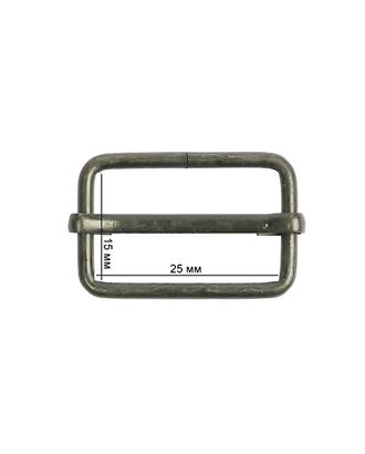 Шлевка металл TSW 20х15х2,3мм арт. МГ-5128-1-МГ0325396