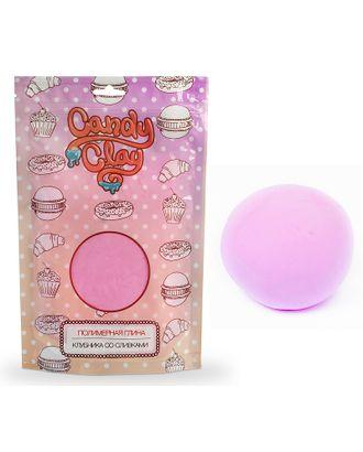 FL.01-0203 FLEUR Candy Clay Полимерная кондитерская глина, клубника со сливками 100г арт. МГ-37833-1-МГ0326752