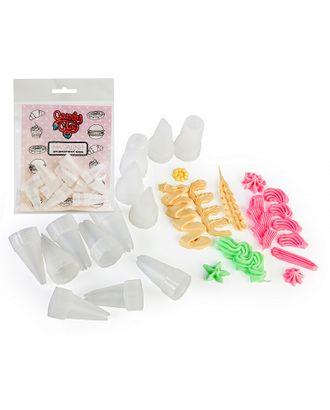 FL.01-0206 FLEUR Candy Clay Насадка кондитерская для Полимерной глины в ассортименте уп.13шт арт. МГ-37850-1-МГ0326769