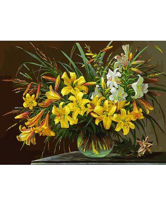 К по номерам Белоснежка Золотая лилия 30х40 см арт. МГ-37967-1-МГ0327983