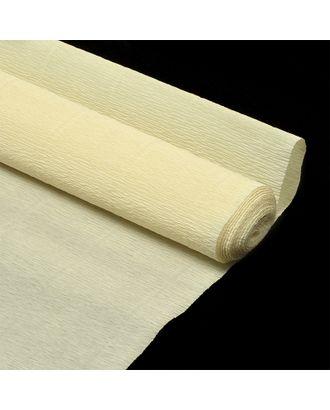 Бумага гофрированная Италия 50см х 2,5м 140г/м² цв.903 слоновая кость арт. МГ-38030-1-МГ0328378