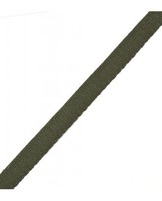 Тесьма киперная ш.1,3см хлопок 1,8г/см цв.т.зеленый арт. МГ-5253-1-МГ0328677