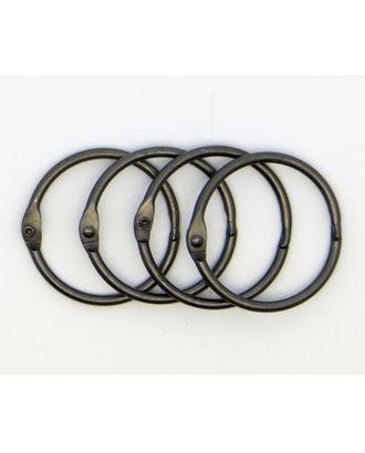 Кольца для альбомов KDA-040/1 цв.металлик Ø40 мм уп.4 шт арт. МГ-38163-1-МГ0329465