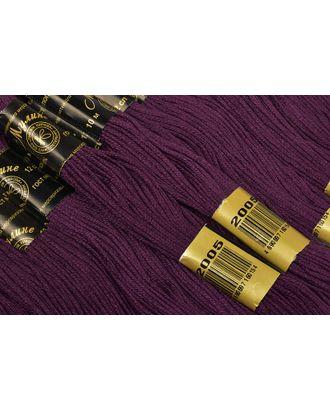 Нитки мулине цв.2005 фиолетовый 12х10м С-Пб арт. МГ-38548-1-МГ0348273