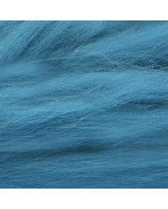 """Шерсть для валяния КАМТ """"Лента для валяния"""" (шерсть п/т 100%) 1х50г/2,1м цв.139 морская волна арт. МГ-38815-1-МГ0361421"""