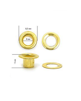 Люверсы сталь №2 (д.4мм, h 5мм) арт. МГ-79039-1-МГ0366742