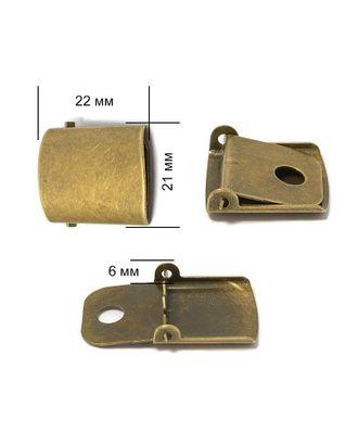 Застежка для бейсболки ТВ.JX8021 арт. МГ-79050-1-МГ0366753