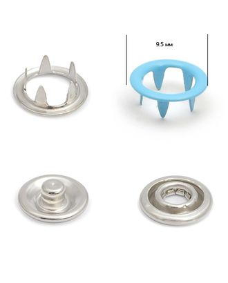 Кнопки трикотажные д.0,95см эмаль №206 арт. МГ-79222-1-МГ0369054