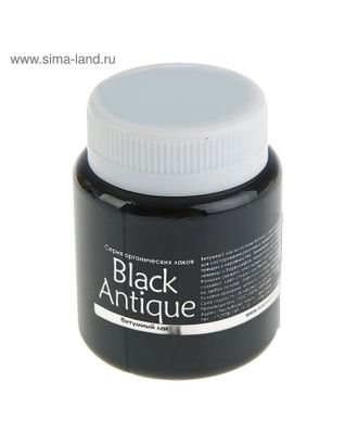 Лак битумный BlackAntique 80мл арт. МГ-71571-1-МГ0369469