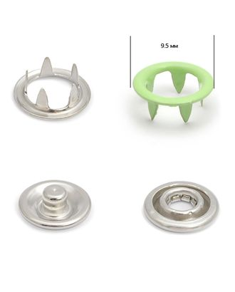 Кнопки трикотажные д.0,95см эмаль №247 арт. МГ-79383-1-МГ0370002