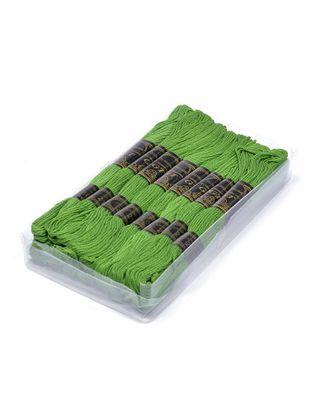 Нитки мулине IDEAL (100% хлопок) 24х8м цв.210 зеленый арт. МГ-40236-1-МГ0370280