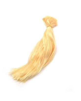 Трессы прямые цв.P612 блондин B-50 см, L-30см уп.2шт арт. МГ-5959-1-МГ0370383